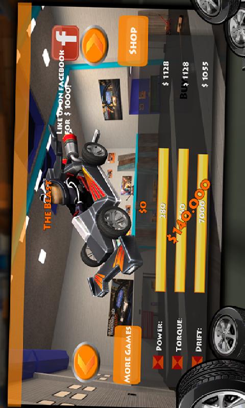 卡丁车漂移赛车3D截图
