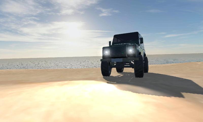 真实越野车模拟3D截图