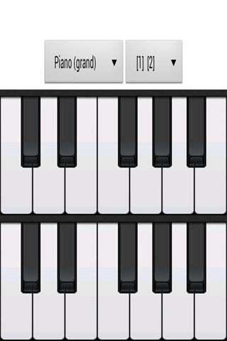 模拟钢琴截图