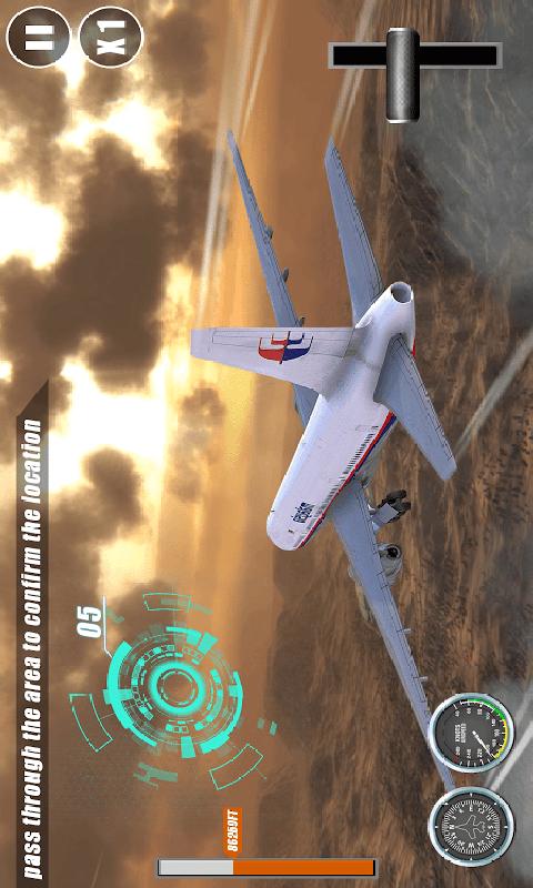 飞行员驾驶模拟截图