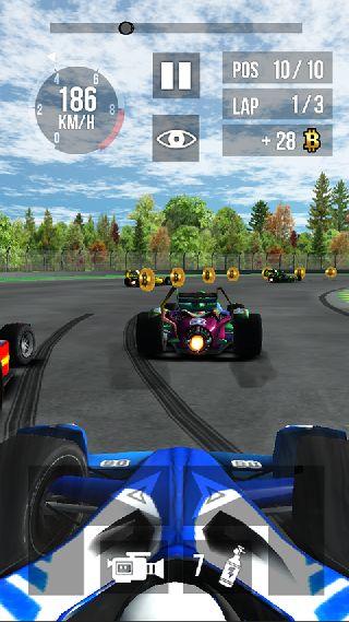 指尖F1赛车 无限金币版截图