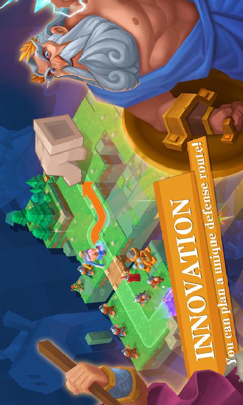 众神塔防:神话保卫战截图