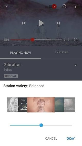 YouTube音乐截图