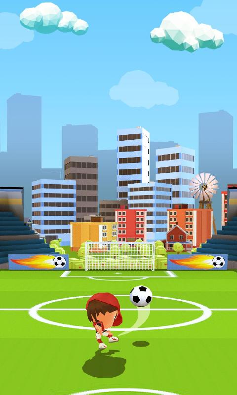 踢足球截图