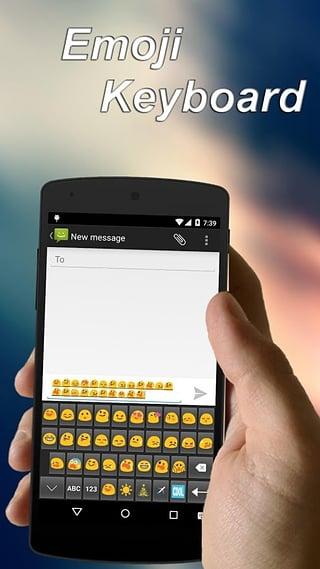 Emoji keyboard for Android截图
