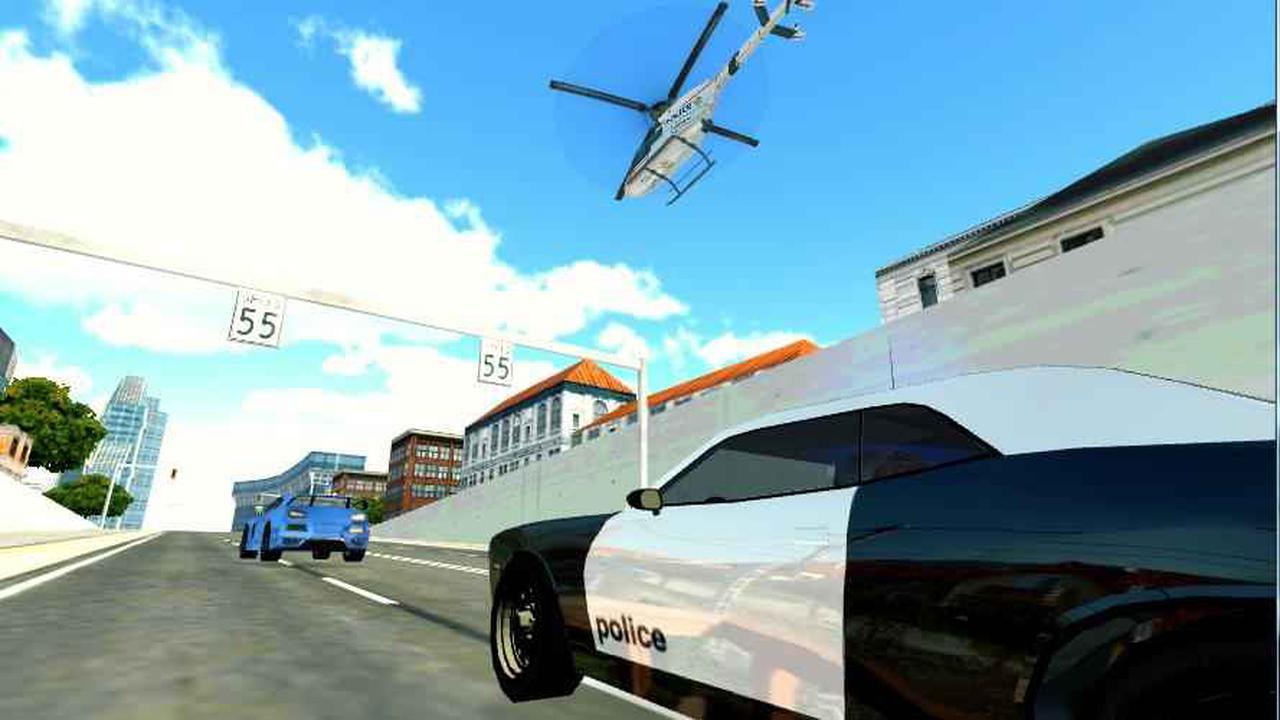 警用直升机模拟截图