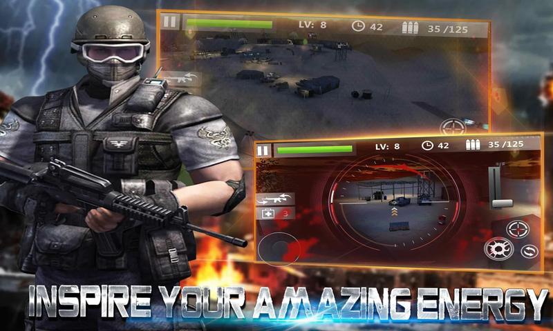 狙击手3D:刺客射击截图