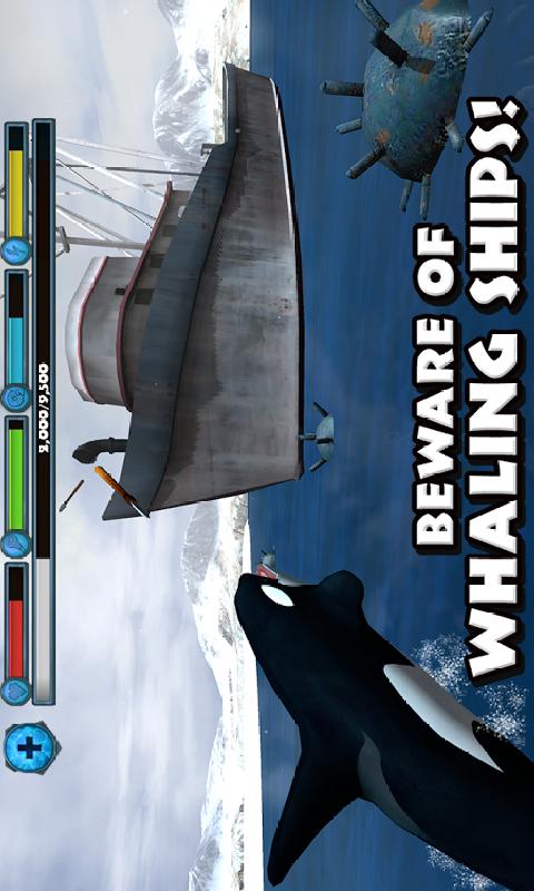 虎鲸模拟截图