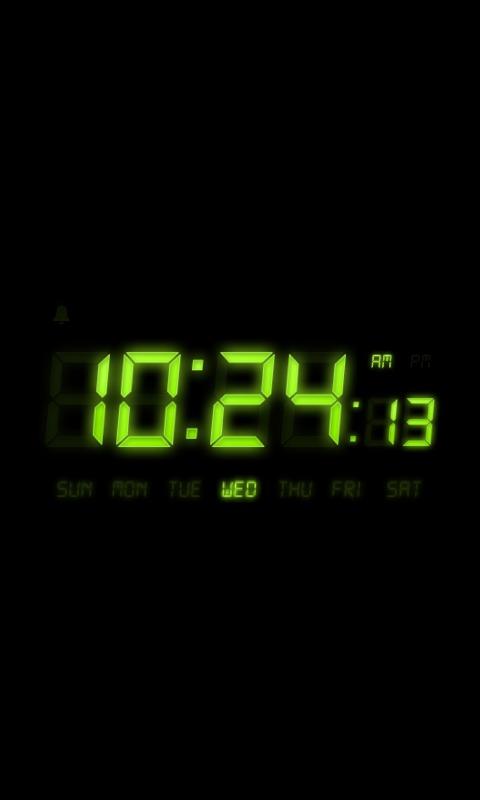炫彩LCD时钟 Alarm Clock截图