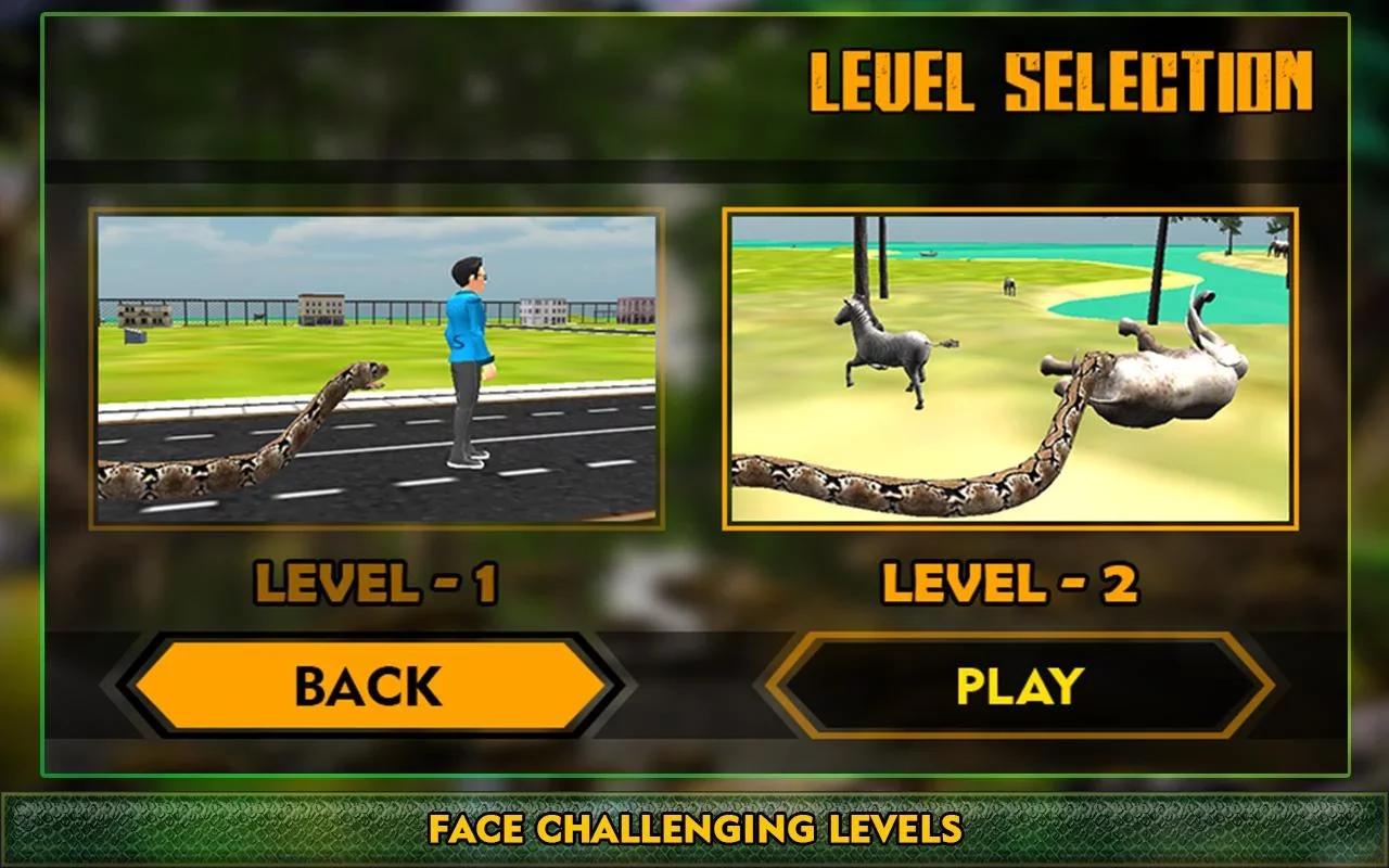 野生森林蛇攻击是最好的模拟器游戏图片