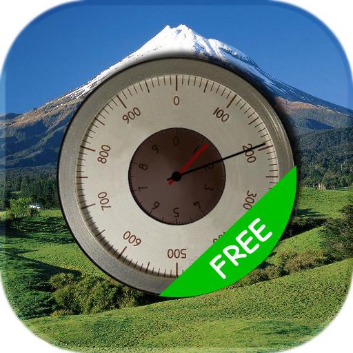 免费精确的高度计