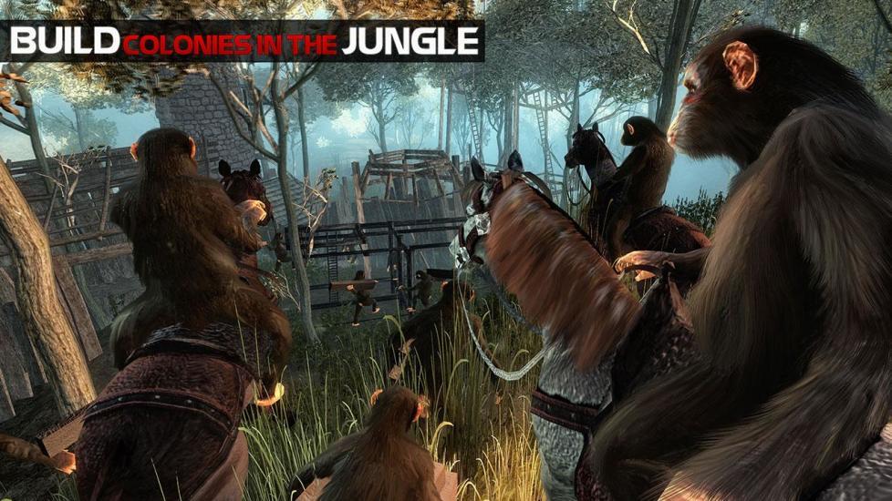 猿的生活丛林生存截图
