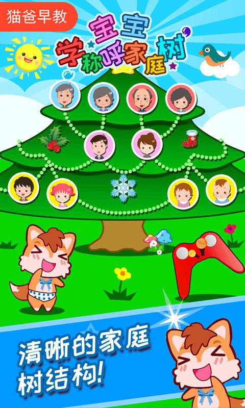 宝宝称呼家庭树