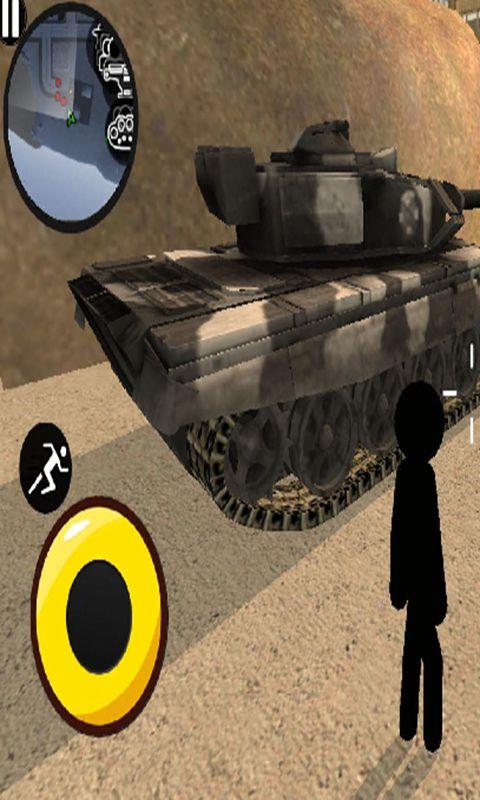 火柴人绳索英雄3:警察射击截图