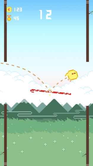 划线轻弹跨林鸟截图
