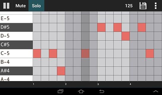 GrooveMixer鼓点制作器截图