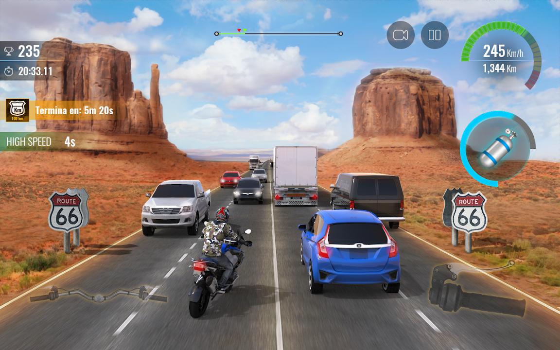 摩托公路竞赛2截图