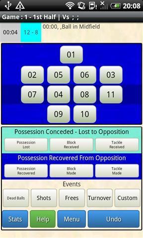 球赛分析截图