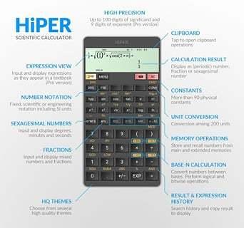 HiPER Calc截图