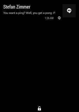AcDisplay 锁屏信息