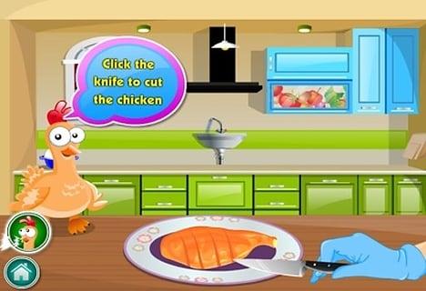 女孩做饭游戏截图