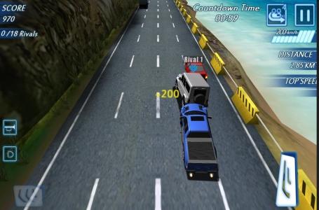 公路赛车 交通高峰截图