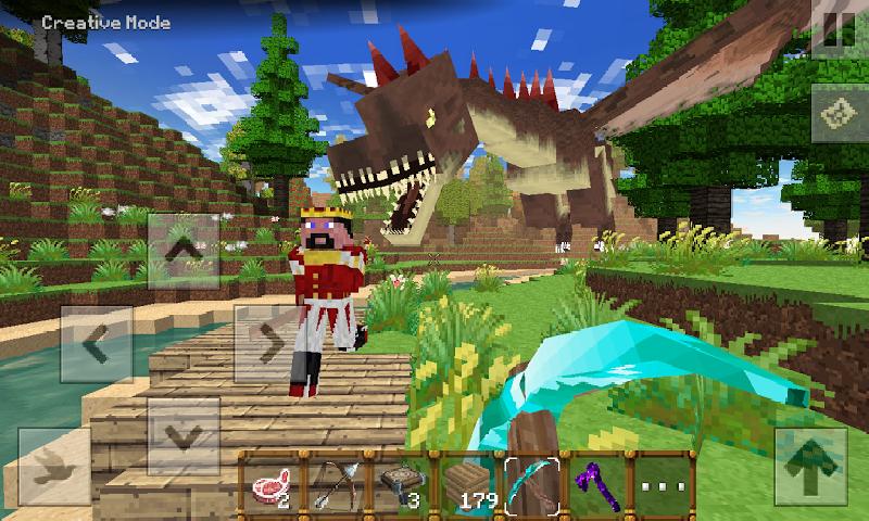我的方块恐龙世界