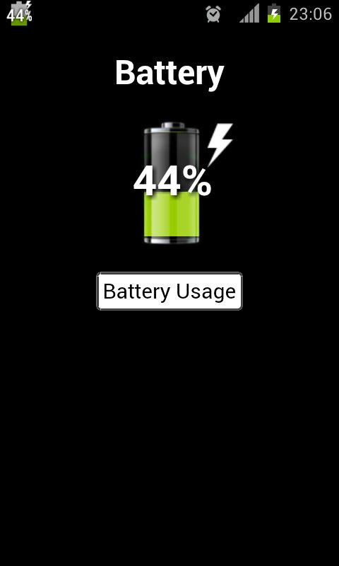 显示电量百分比