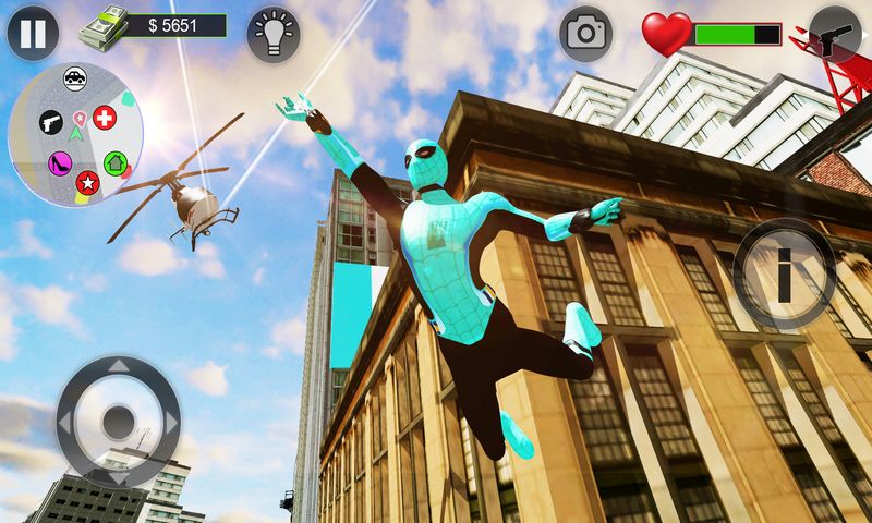 绿色蜘蛛侠:城市救援截图
