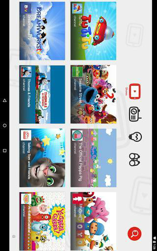 YouTube Kids截图