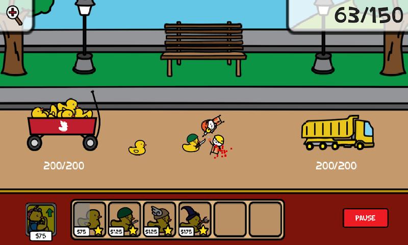 疯狂小鸭战争截图