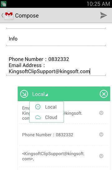 Kingsoft Clip截图