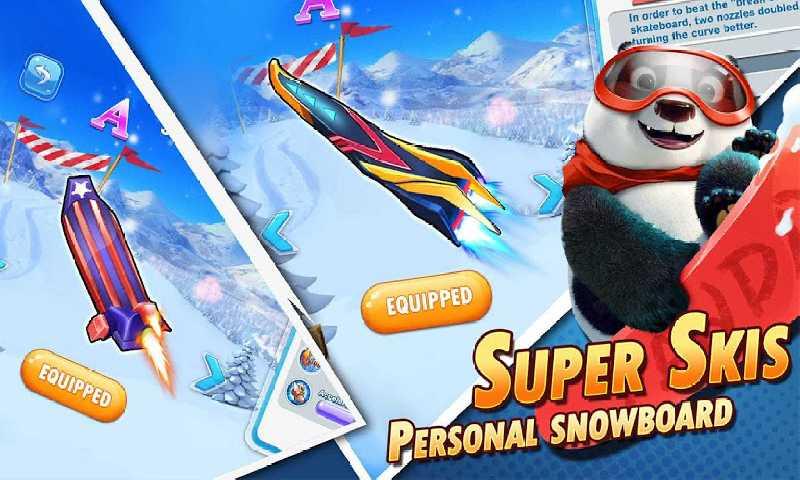 疯狂滑雪:营地荣耀之战