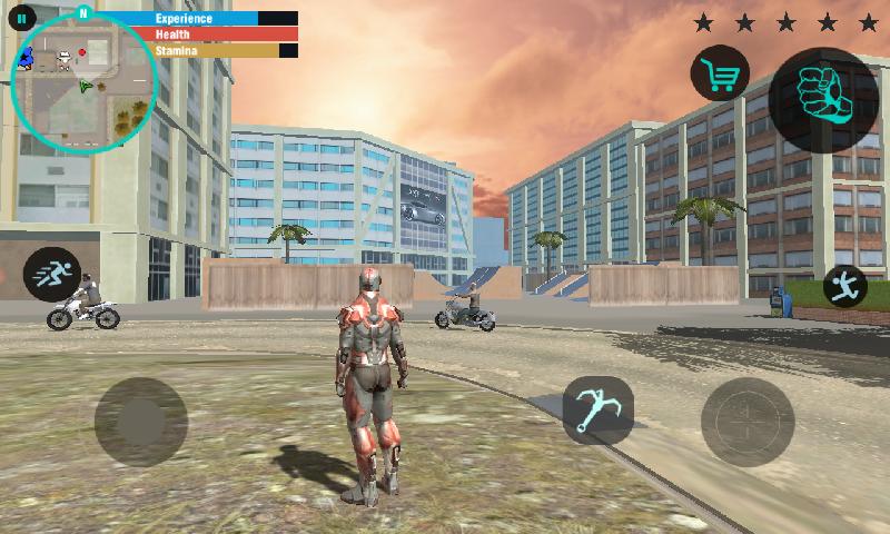 蜘蛛机器人绳索英雄截图