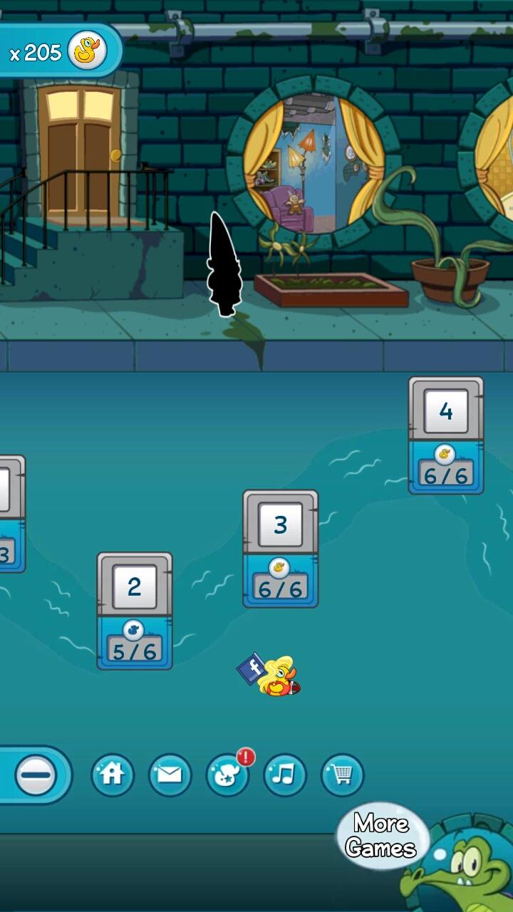 小鳄鱼爱洗澡2截图