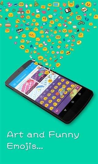 Emoji Keyboard Plus截图