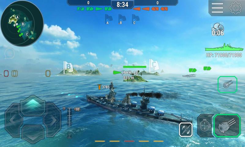 环球战舰:海战截图