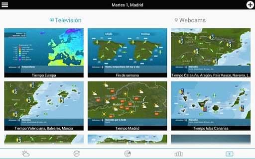 西班牙天气预报