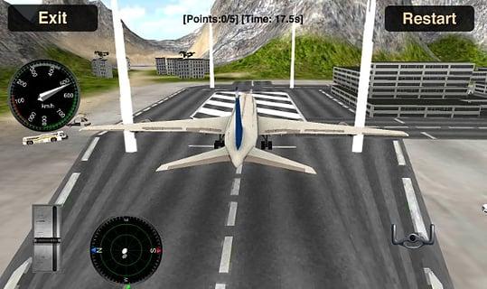 驾驶飞机截图