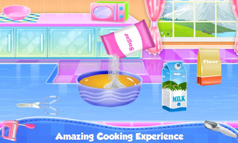 水果冰淇淋蛋糕烹饪截图