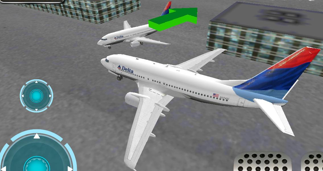 机场3D飞机停泊
