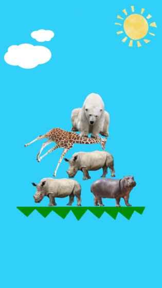 动物叠叠乐