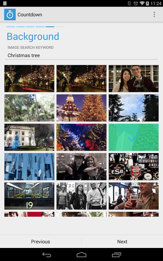 Countdown App Chromecast截图