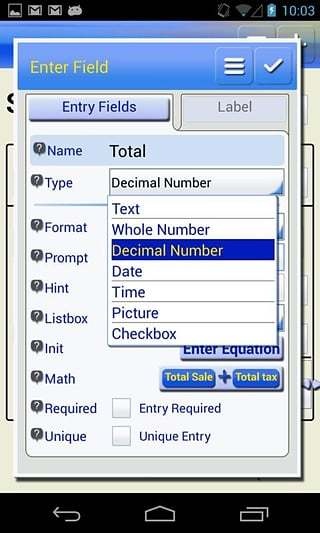 Sailforms Forms Database截图