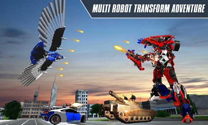 机器人超级变换截图