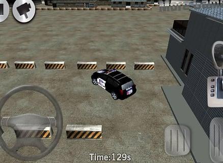 警察3D停车场截图