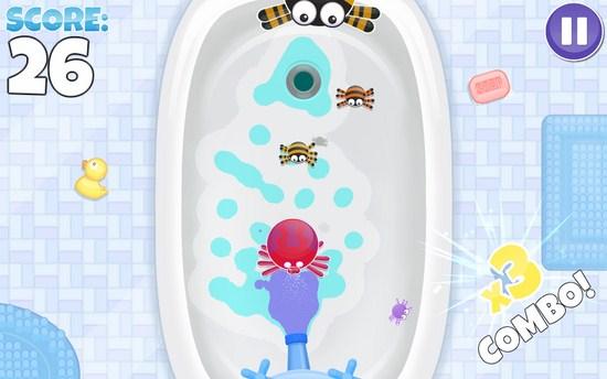 浴室里的蜘蛛