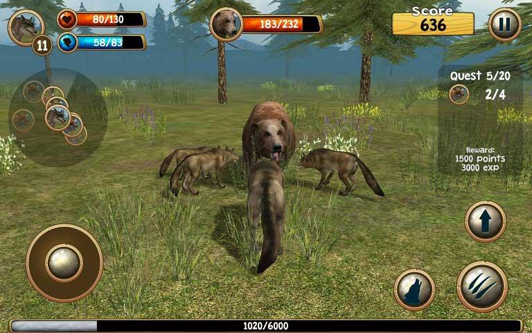 化身为狼3D修改版