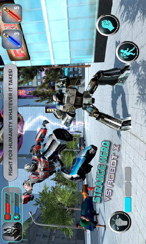 机器人大战奇异英雄截图