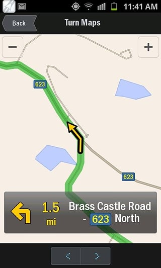 CoPilot GPS截图